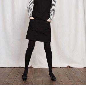 Herringbone tweed babydoll shift dress cap sleeves